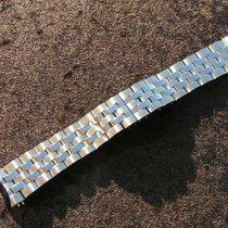 Zenith Ba 033 / 85  22mm Watch Bracelet Stahl Steel Band New...