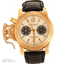 Graham Chronofighter 2CFAR.S02AD54B Rotgold limitiert Papiere...