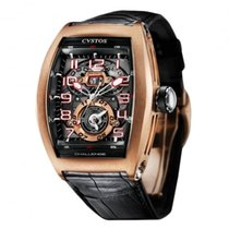 Cvstos Challenge Twin Time Rose Gold Black Movement