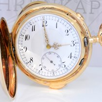 andere Marken Heure Répétition Chronograph 585er Gelbgold...
