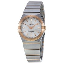 Omega Constellation Mother of Pearl Dial Ladies Watch 12320276...