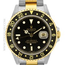 Rolex stainless steel and 18k yellow gold GMT-Master II