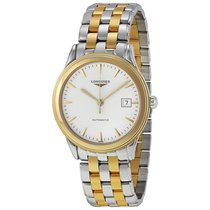 Longines Flagship Automatic White Dial Two-tone Mens Watch...