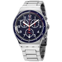 Swatch Irony Swatchour Blue Dial Stainless Steel Men's...