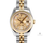 Rolex Datejust Steel and Gold Champagne Jubilee Diamond Dial...
