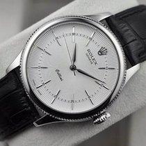 Rolex [NEW] Cellini Time WG 50509 White 39mm (Retail:HK$118,500)