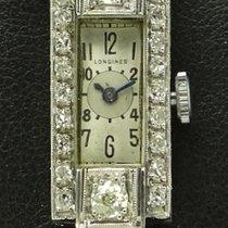 Longines Vintage Lady, Art Deco, Platinum and Diamonds, from...