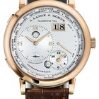 A. Lange & Söhne Lange 1 Time Zone 18K Rose Gold Brown...