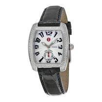 Michele Mini Urban Diamond Black Ladies Watch