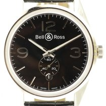 Bell & Ross Br-123-95 Officer Collection Black Automatic...
