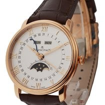 Blancpain 6654-3642-55B Villeret Moon Phase and Complete...