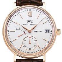 IWC Portofino Handaufzug Acht Tage 18 kt Rotgold Ref. IW510107