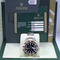 Rolex GMT Master II 18K Yellow Gold & Stainless Steel