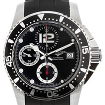 Longines HydroConquest Black Chronograph