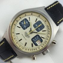Heuer Incabloc Chronograph Handaufzug - Valjoux 7765 - 70er Jahre