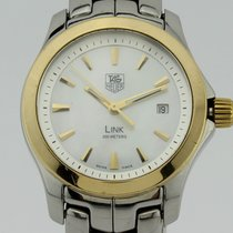 TAG Heuer Link Steel and Gold Quartz WJF1352