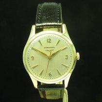 Longines 14kt 585 Gold Handaufzug Herrenuhr Ref 6747 1 /...