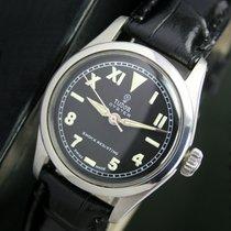 Tudor Oyster Winding Black Radium Dial Steel Unisex Watch 7903