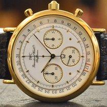 IWC Portofino Chronograph in 18k Yellow Gold