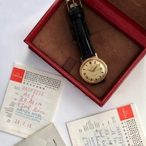 Omega Top 1967 Omega Constellation De Luxe Solid 18k Gold Full...
