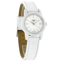 Tissot Classic Dream Ladies Mop White Leather Band Watch...