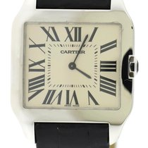 Cartier Santos Dumont Large 18K White Gold