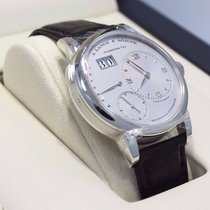 A. Lange & Söhne Grand Lange 1 Platinum 117.025 41mm Watch...