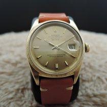 Rolex DATEJUST 1611 18K Yellow Gold with Florentine Finish...