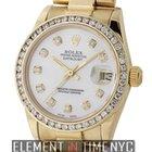 Rolex Datejust 31mm President 18k YG Diamond Dial & Bezel...