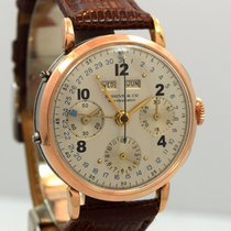 SHREVE & CO Triple Date 3-Register Chrono circa 1950's