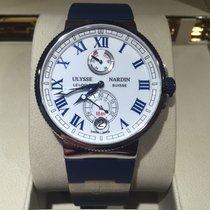 Ulysse Nardin Marine Chronometer Manufacture White Dial