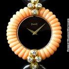 Piaget Dancer Coral & Onyx With Diamonds 18k