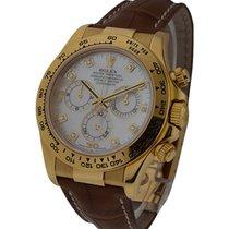 Rolex Used Yellow Gold Daytona on Strap Ref 116518
