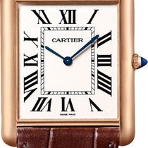 Cartier TANK LOUIS CARTIER Pink Gold Oro Rosa 18ct W1560017