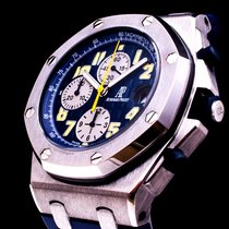 Audemars Piguet 18K White Gold Royal Oak Offshore Chronograph...