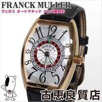Franck Muller 【中古】  5850 VEGAS ヴェガス ベガス K18 メンズ 腕時計 ルーレット...
