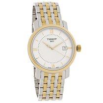 Tissot Bridgeport Mens Two Tone Swiss Quartz Watch T097.410.22...