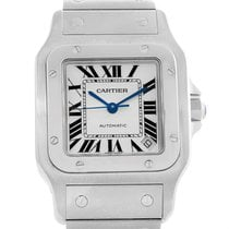 Cartier Santos Galbee Xl Steel Mens Watch W20098d6 Box Papers
