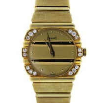 Piaget Polo 861C701 18k  Gold Diamond Ladies Watch