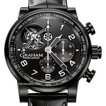 Graham Silverstone Tourbillograph Full Black 48mm