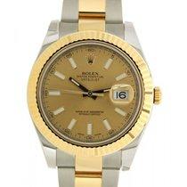 Rolex Datejust II 116333 In Acciaio E Oro Giallo, 41mm