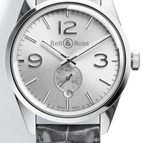 Bell & Ross Vintage BR OFFICER SILVER