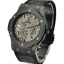 Hublot Classic Fusion All Black Ultra Thin Skeleton