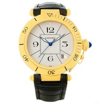 Cartier Pasha 38mm 18k Yellow Gold Automatic Mens Watch