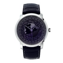 Vacheron Constantin Traditionnelle World Time Platinum Dial...