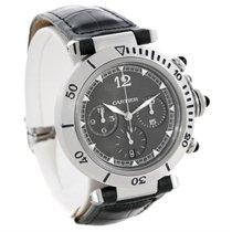 Cartier Pasha Millennium Edition Platinum Bezel Watch W3105155...