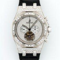 Audemars Piguet White Gold Royal Oak Diamond Tourbillon Ref....