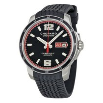 Chopard Mille Miglia GTS Automatic Black Dial Black Rubber...