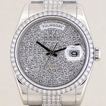 Rolex Day Date Platinum Diamonds