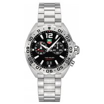 TAG Heuer Formula 1 41mm Chrono Date Alarm Quartz Mens Watch...